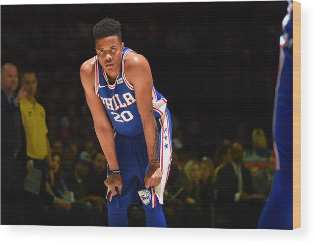 People Wood Print featuring the photograph Markelle Fultz by Jesse D. Garrabrant