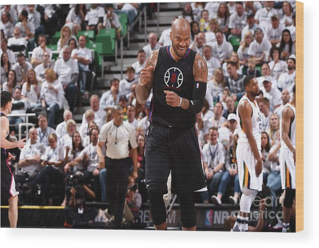 Playoffs Wood Print featuring the photograph Marreese Speights by Andrew D. Bernstein