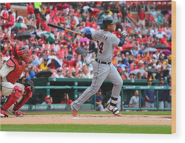 People Wood Print featuring the photograph Miguel Cabrera by Dilip Vishwanat