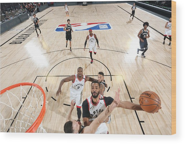 Playoffs Wood Print featuring the photograph Norman Powell by David Sherman