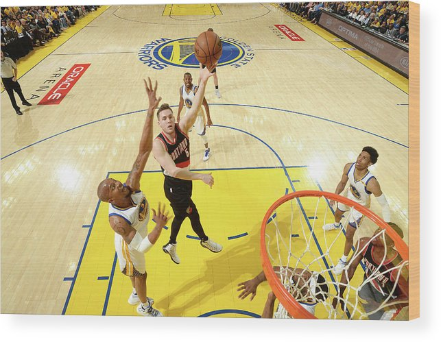 Playoffs Wood Print featuring the photograph Pat Connaughton by Noah Graham