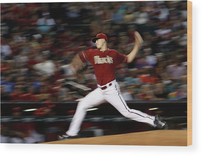 People Wood Print featuring the photograph Patrick Corbin by Christian Petersen