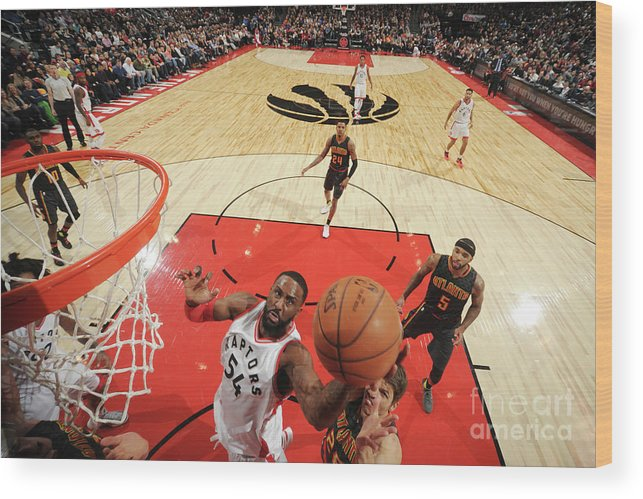 Patrick Patterson Wood Print featuring the photograph Patrick Patterson by Ron Turenne