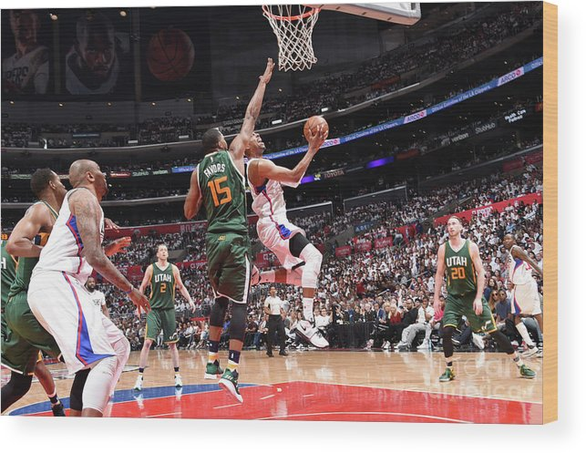 Playoffs Wood Print featuring the photograph Paul Pierce by Andrew D. Bernstein