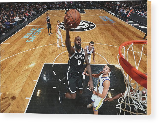 Nba Pro Basketball Wood Print featuring the photograph Quincy Acy by Nathaniel S. Butler