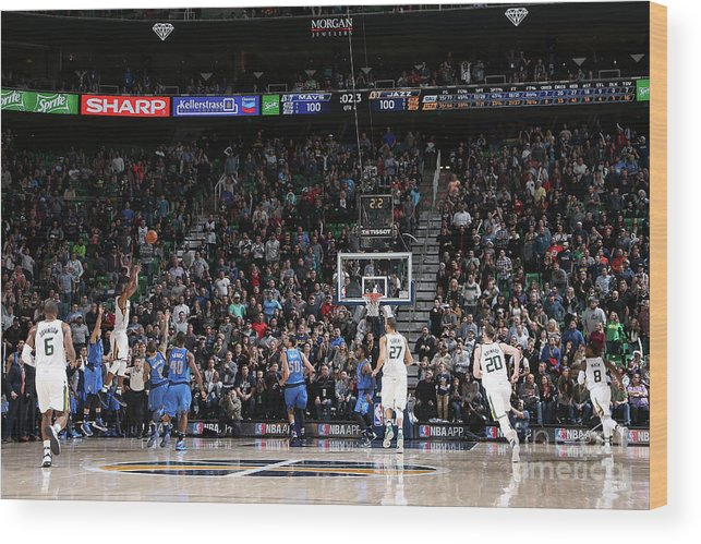 Nba Pro Basketball Wood Print featuring the photograph Rodney Hood by Melissa Majchrzak