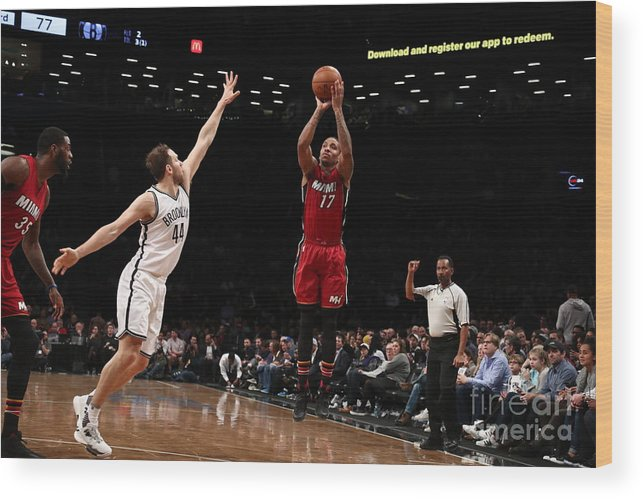 Nba Pro Basketball Wood Print featuring the photograph Rodney Mcgruder by Nathaniel S. Butler