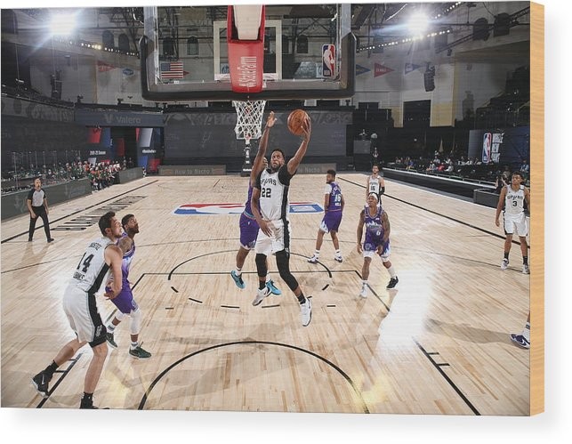 Nba Pro Basketball Wood Print featuring the photograph Rudy Gay by David Dow