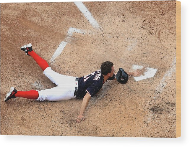 People Wood Print featuring the photograph Ryan Zimmerman by Rob Carr