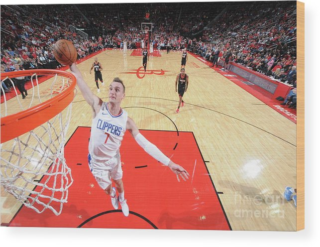 Nba Pro Basketball Wood Print featuring the photograph Sam Dekker by Bill Baptist