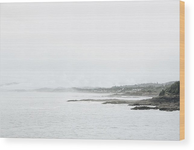 Tranquility Wood Print featuring the photograph Scenic view of sea by Sisi Zheng / FOAP