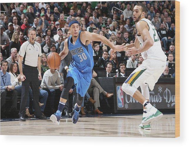 Nba Pro Basketball Wood Print featuring the photograph Seth Curry by Melissa Majchrzak