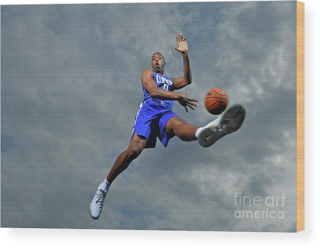 Nba Pro Basketball Wood Print featuring the photograph Sindarius Thornwell by Jesse D. Garrabrant