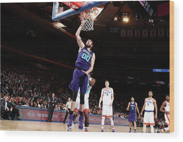 Nba Pro Basketball Wood Print featuring the photograph Spencer Hawes by Nathaniel S. Butler