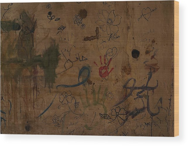 Child Wood Print featuring the photograph Syrian Refugees Migrate To Beirut To Escape Violence by Spencer Platt