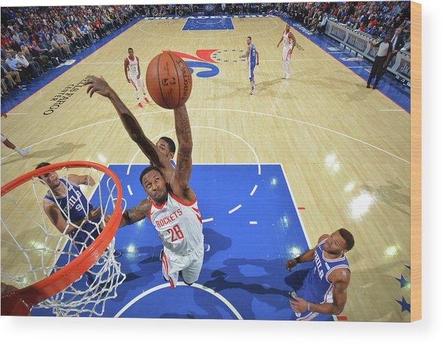 Nba Pro Basketball Wood Print featuring the photograph Tarik Black by Jesse D. Garrabrant
