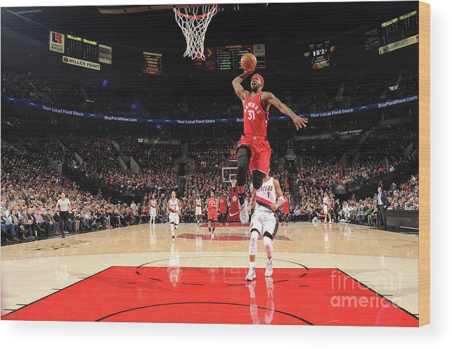 Nba Pro Basketball Wood Print featuring the photograph Terrence Ross by Cameron Browne