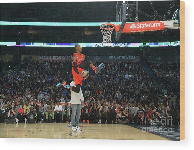 Smoothie King Center Wood Print featuring the photograph Terrence Ross by Jesse D. Garrabrant