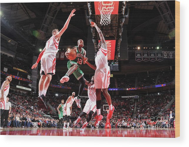 Nba Pro Basketball Wood Print featuring the photograph Terry Rozier by Bill Baptist