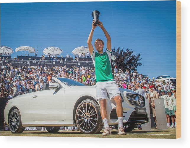 Mercedes Cup Wood Print featuring the photograph The MercedesCup by Thomas Niedermueller
