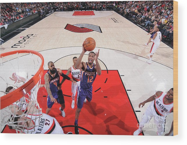 Nba Pro Basketball Wood Print featuring the photograph T.j. Warren by Sam Forencich