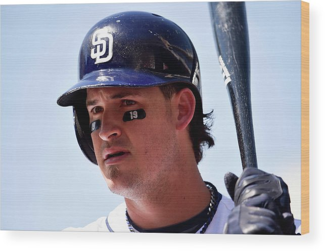 American League Baseball Wood Print featuring the photograph Tony Gwynn by Denis Poroy
