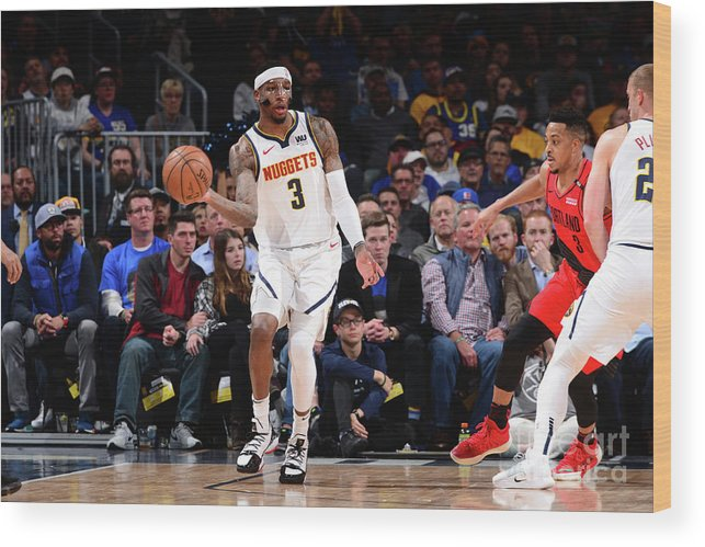 Playoffs Wood Print featuring the photograph Torrey Craig by Bart Young