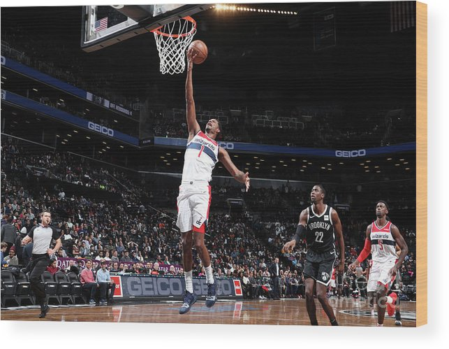 Nba Pro Basketball Wood Print featuring the photograph Trevor Ariza by Nathaniel S. Butler
