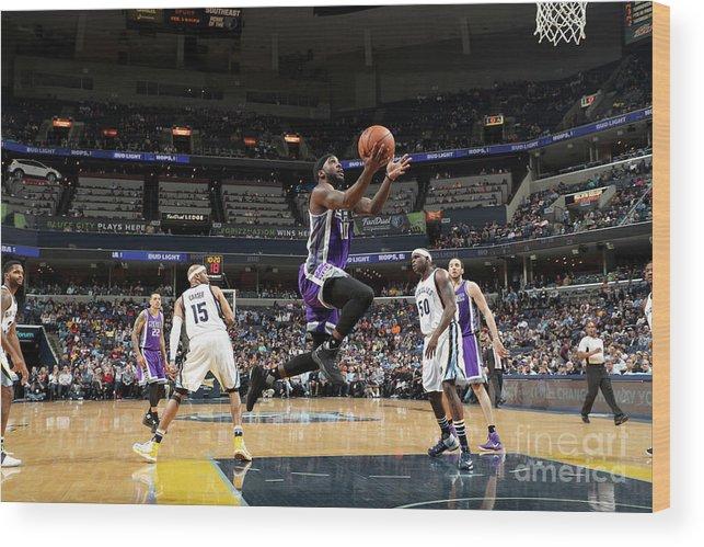 Nba Pro Basketball Wood Print featuring the photograph Ty Lawson by Joe Murphy