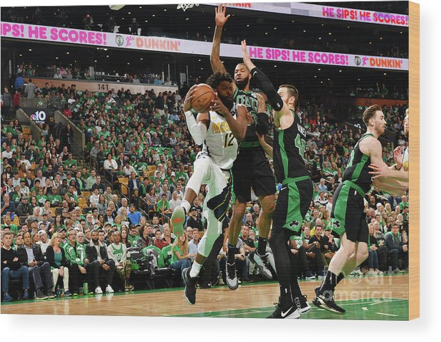 Playoffs Wood Print featuring the photograph Tyreke Evans by Jesse D. Garrabrant