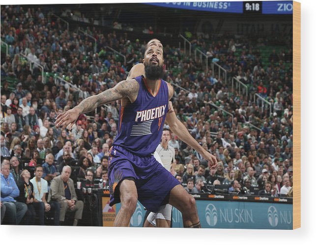 Nba Pro Basketball Wood Print featuring the photograph Tyson Chandler by Melissa Majchrzak
