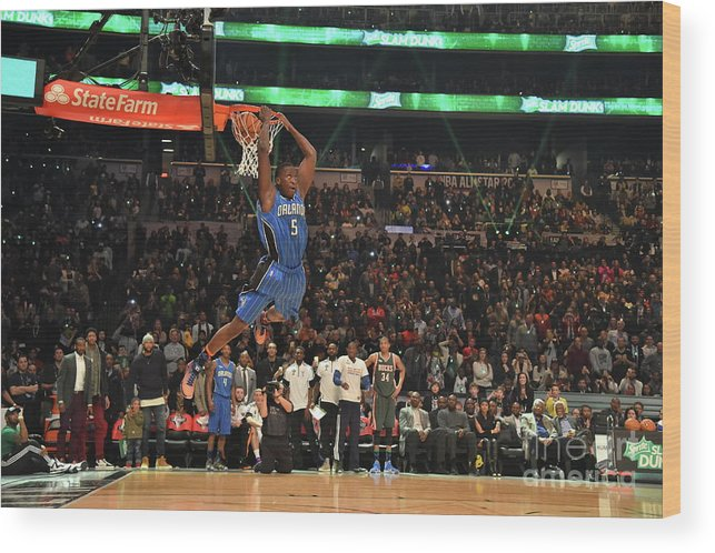 Event Wood Print featuring the photograph Victor Oladipo by Jesse D. Garrabrant