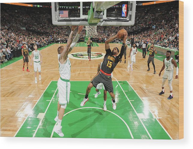 Nba Pro Basketball Wood Print featuring the photograph Vince Carter by Brian Babineau