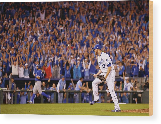 People Wood Print featuring the photograph Wade Davis by Jamie Squire