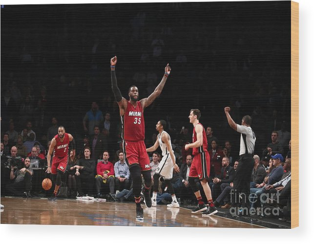 Nba Pro Basketball Wood Print featuring the photograph Willie Reed by Nathaniel S. Butler