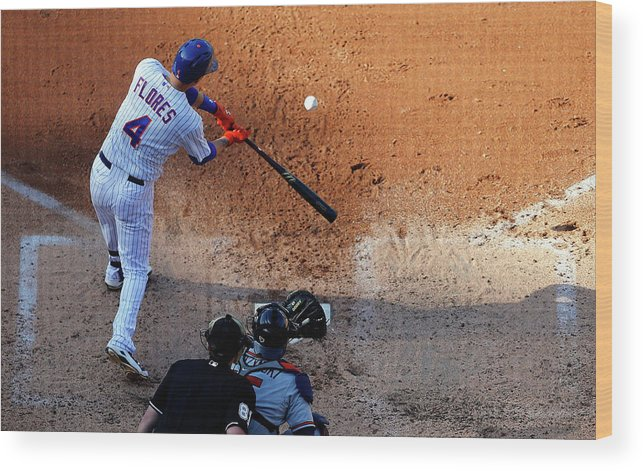 People Wood Print featuring the photograph Wilmer Flores by Jim Mcisaac