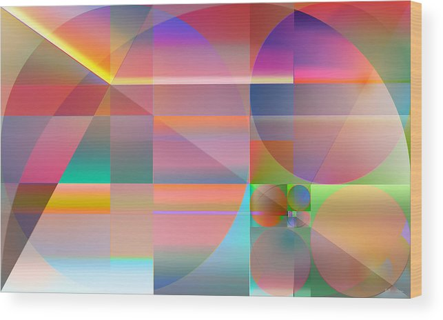 �the Abstracts Plus� Collection By Serge Averbukh Wood Print featuring the photograph The Principles Of Life by Serge Averbukh
