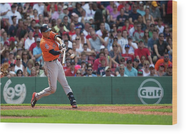 People Wood Print featuring the photograph Carlos Correa by Rich Gagnon