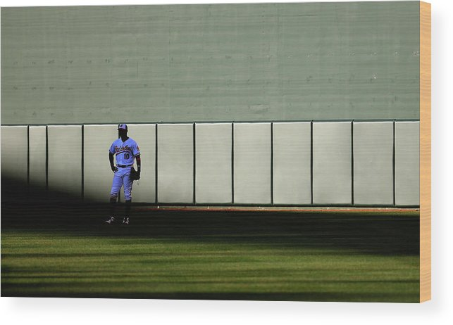 Ninth Inning Wood Print featuring the photograph Fielder Jones by Rob Carr