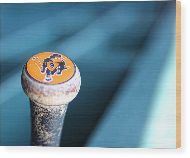 American League Baseball Wood Print featuring the photograph Baltimore Orioles V Detroit Tigers by Leon Halip