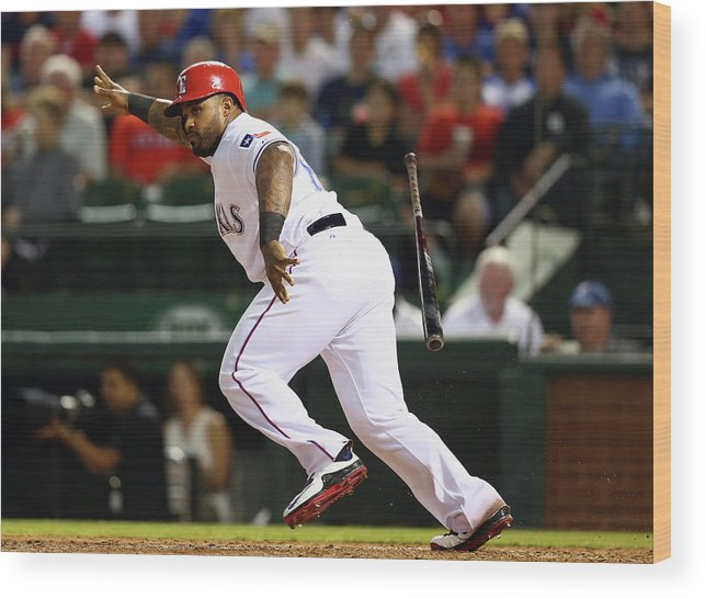 People Wood Print featuring the photograph Prince Fielder by Ronald Martinez