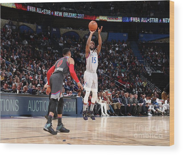Event Wood Print featuring the photograph Kemba Walker by Nathaniel S. Butler