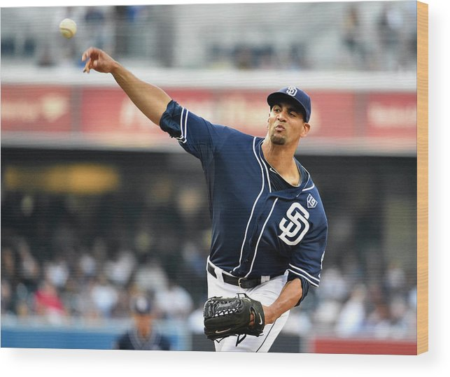 California Wood Print featuring the photograph Tyson Ross by Denis Poroy