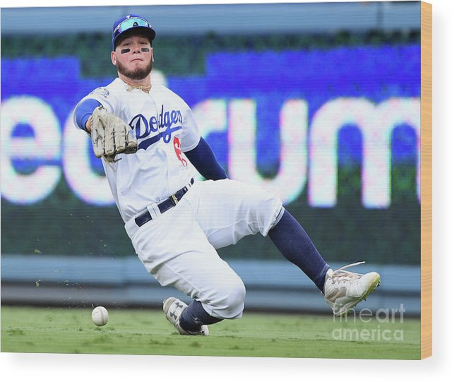 People Wood Print featuring the photograph Alex Verdugo and Amed Rosario by Harry How
