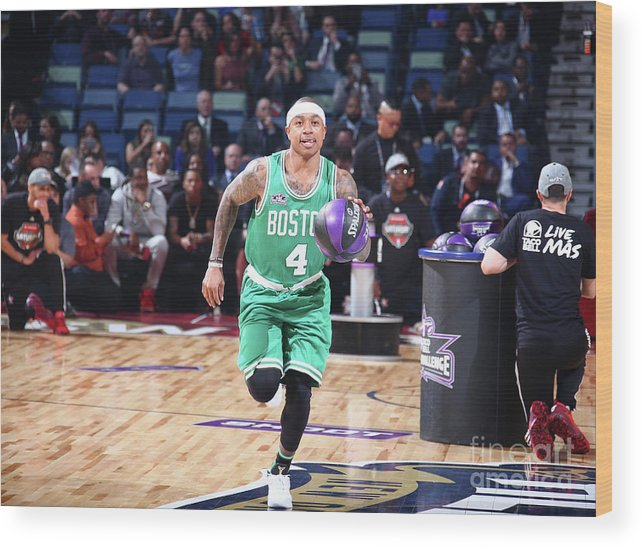 Event Wood Print featuring the photograph Isaiah Thomas by Nathaniel S. Butler