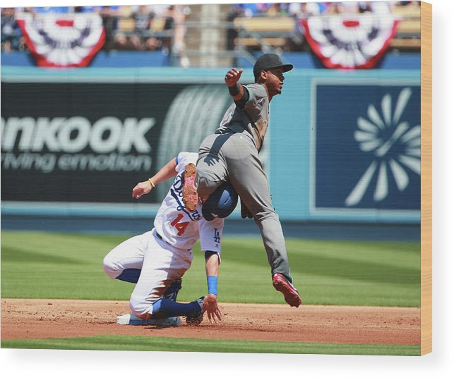 People Wood Print featuring the photograph Jean Segura by Victor Decolongon