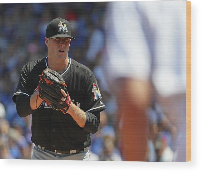 People Wood Print featuring the photograph Tom Koehler and Kris Bryant by Jonathan Daniel