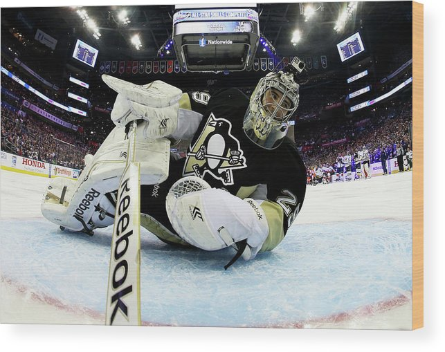 People Wood Print featuring the photograph 2015 Honda Nhl All-star Skills by Bruce Bennett