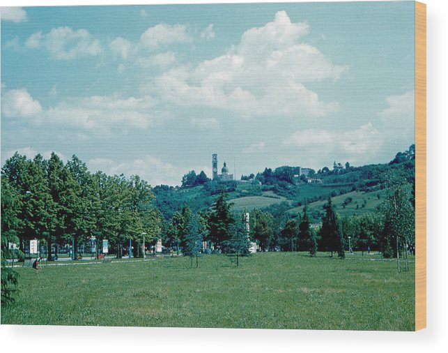 Vicenza Wood Print featuring the photograph Vicenza Italy 6 1962 by Cumberland Warden