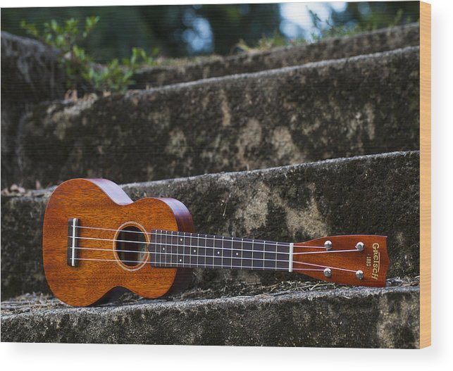 Music Wood Print featuring the photograph Gretsch Ukulele by Keith May
